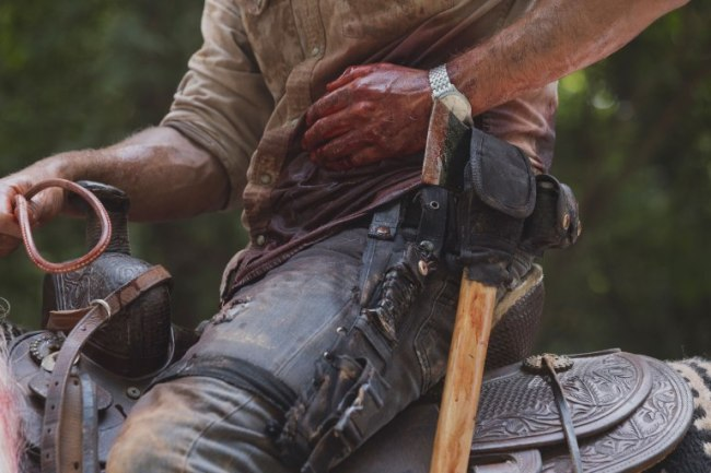 Andrew Lincoln as Rick Grimes- The Walking Dead _ Season 9, Episode 5 - Photo Credit: Jackson Lee Davis/AMC