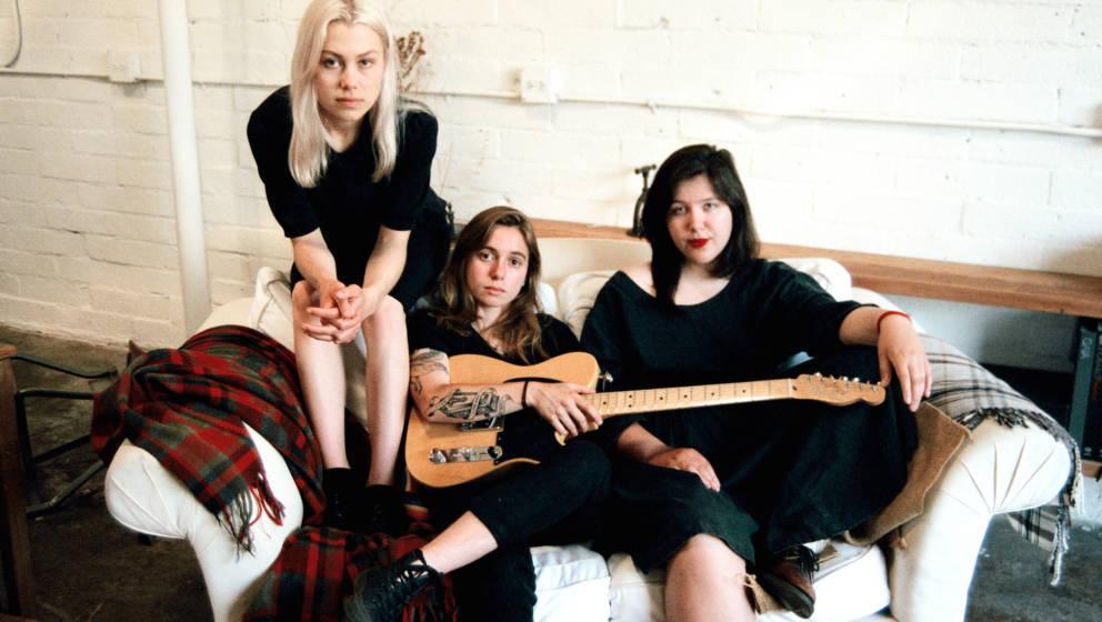 Von links: Phoebe Bridgers, Julien Baker und Lucy Dacus alias Boygenius