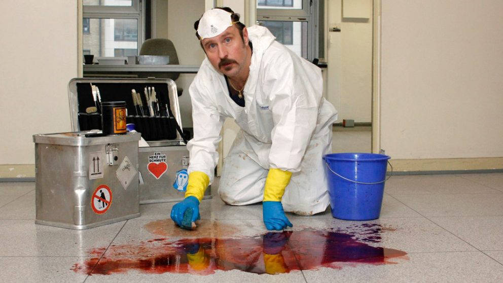 Der Tatortreiniger schrubbt ab Ende November kein Blut mehr auf Netflix.