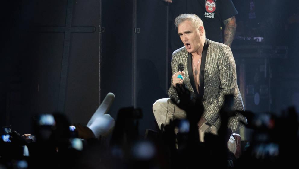 Morrissey hat zuweilen mit seinen Fans zu kämpfen