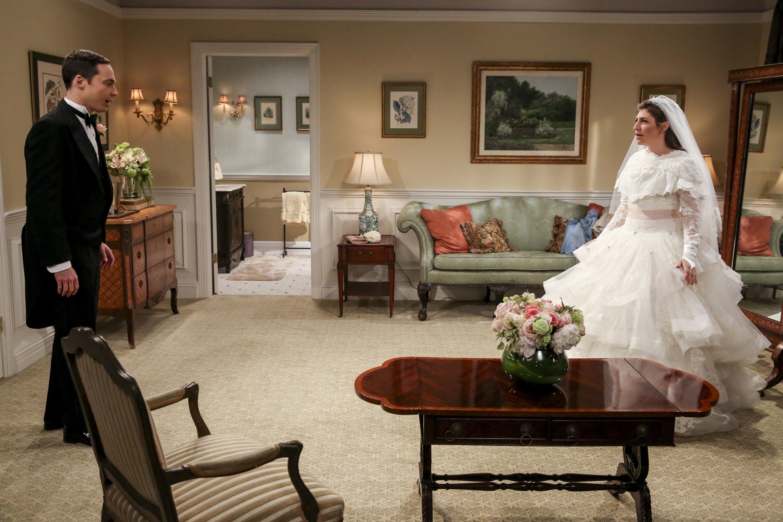 Traumhochzeit für Amy und Sheldon - jedenfalls nicht ohne Hindernisse