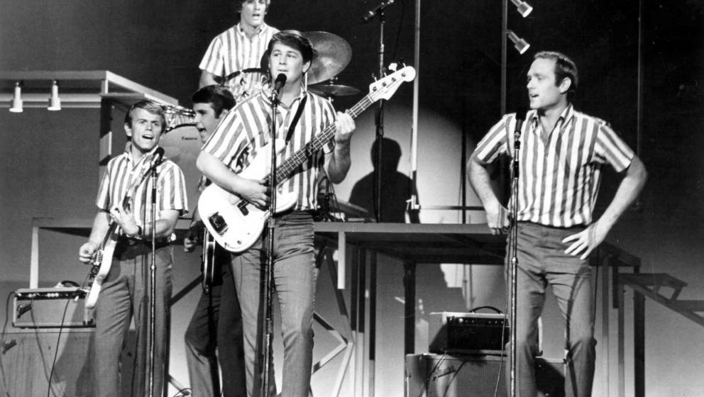The Beach Boys im Jahr 1964.