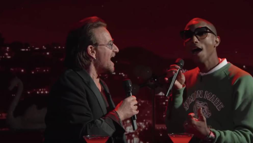 Ungewöhnliche Duettpartner: Bono und Pharrell