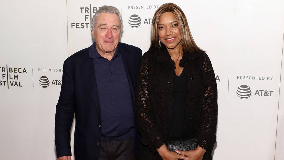 "Robert De Niro und Grace Hightower im April 2018 beim ""Tribeca Film Festival"""