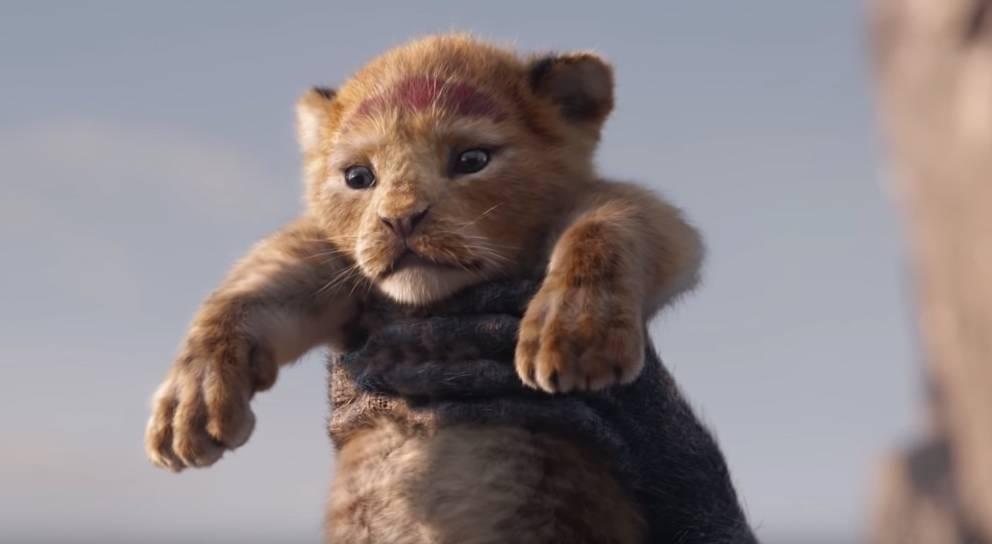 """Szene aus der Neuverfilmung von """"König der Löwen"""""""