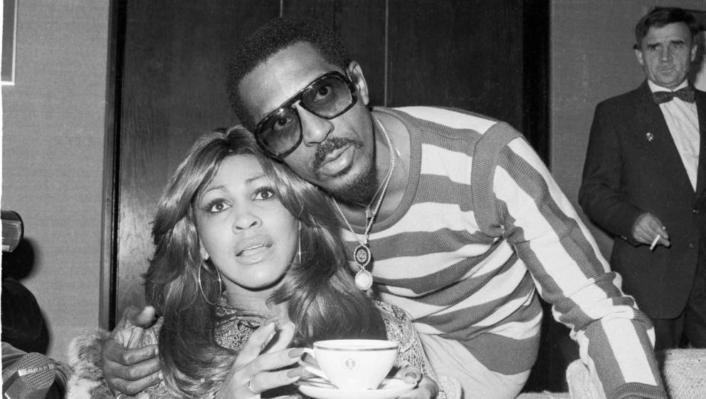 Tina Turner and Ike Turner, portrait, London, October 1975. (Photo by Michael Putland/Getty Images)