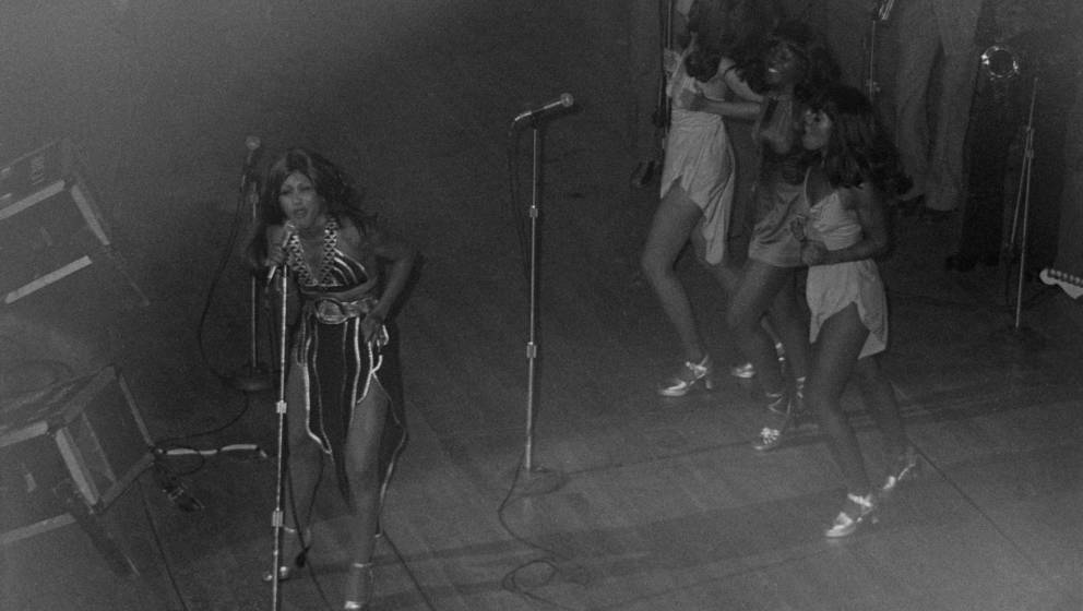 Tina Turner at the Apollo Theater, in performance; circa 1970; New York. (Photo by Art Zelin/Getty Images)
