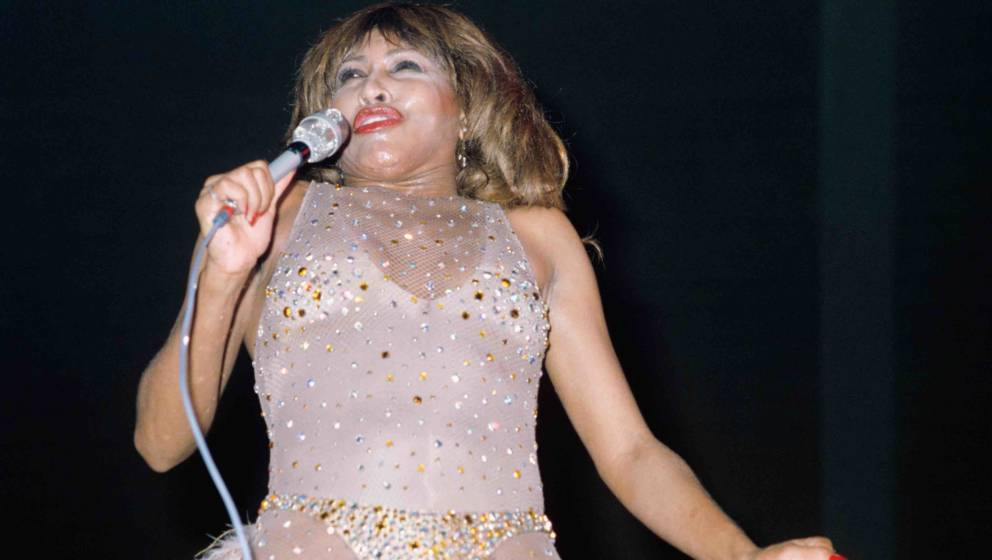 The American singer Tina Turner, 1979, Madrid, Spain. (Photo by Gianni Ferrari/Cover/Getty Images).
