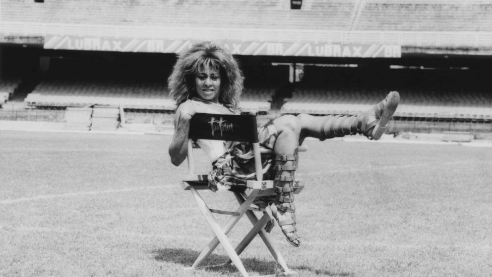 Tina Turner in Rio de Janeiro