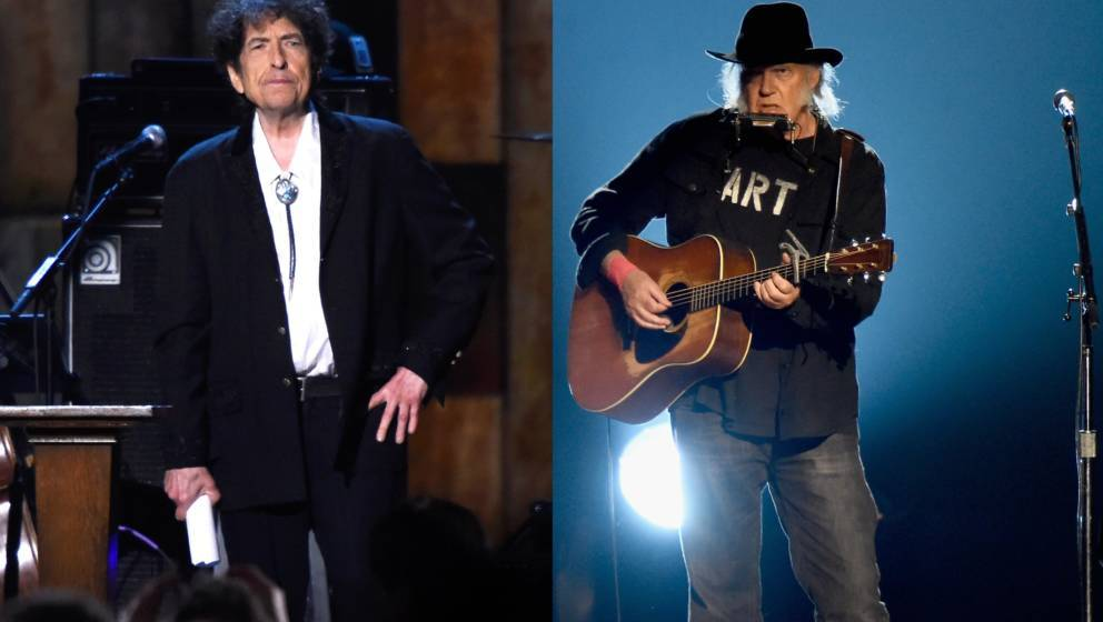 Bob Dylan und Neil Young
