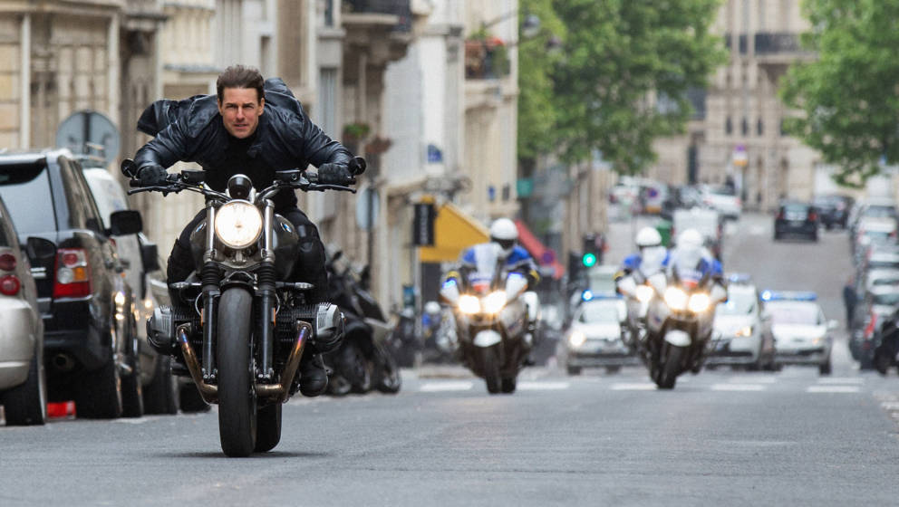 Tom Cruise as Ethan Hunt in MISSION: IMPOSSIBLE - FALLOUT, from Paramount Pictures and Skydance.