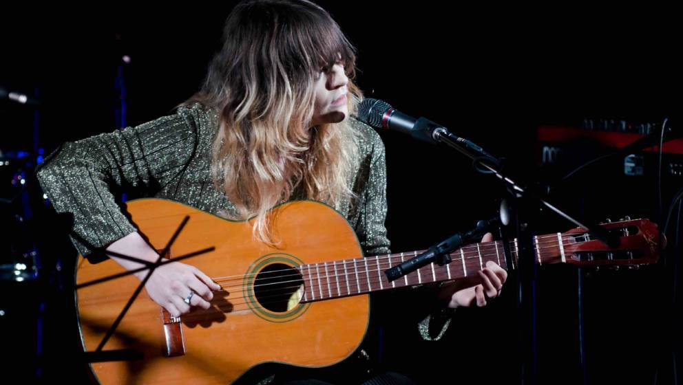 WASHINGTON, DC - JULY 11: Jessica Pratt performs at Sixth & I Synagogue Downstairs. (Josh Sisk/For The Washington Post)