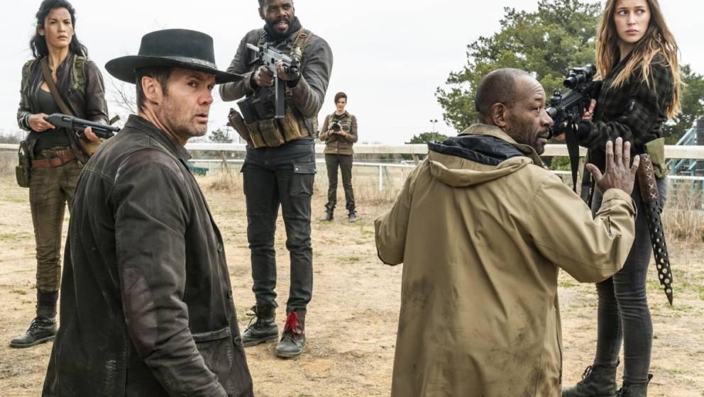 """Szene aus """"Fear The Walking Dead"""" - Staffel 4"""