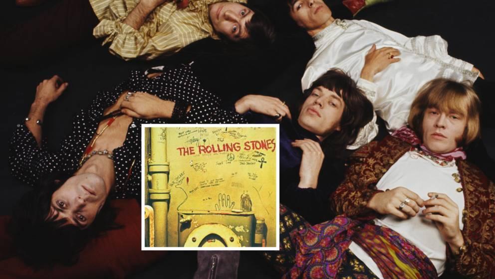 Die Rolling Stones im Jahr 1968