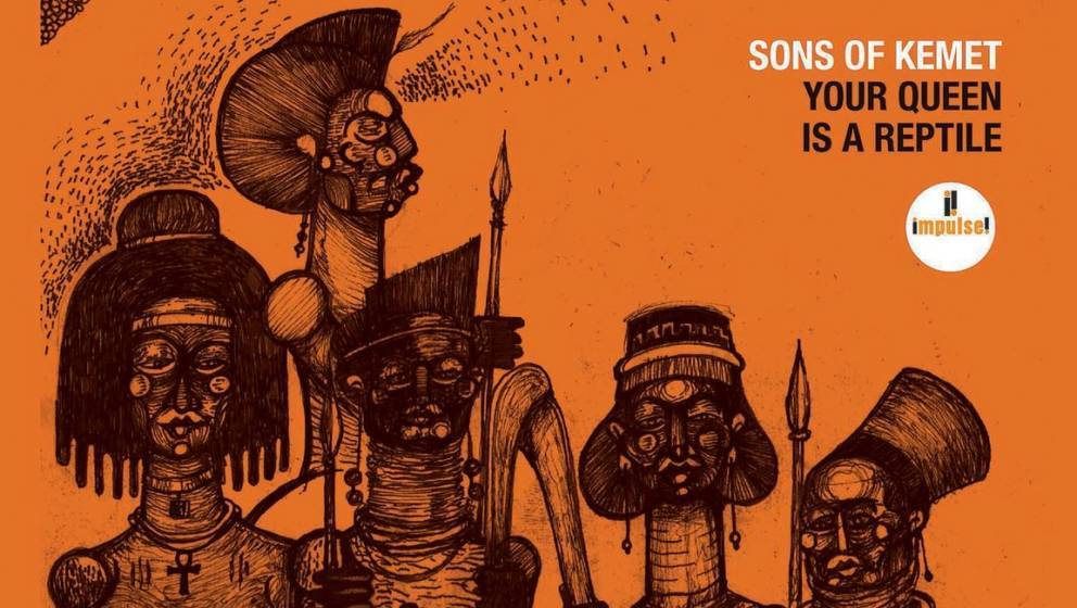 "Cover-Artwork zu ""Your Queen Is A Reptile"" von Sons Of Kemet"