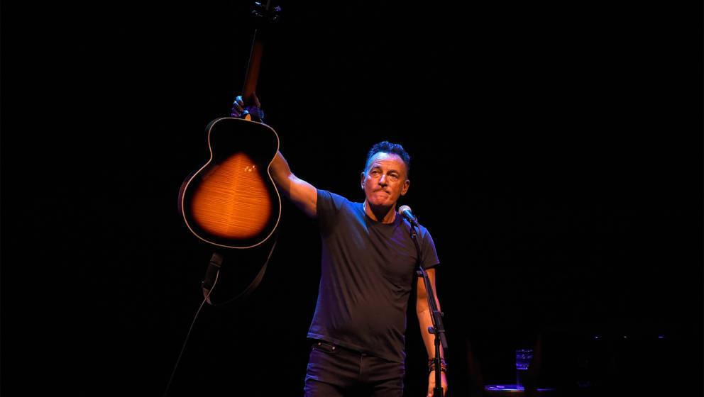 Bruce Springsteen bei der Premiere seiner Broadway-Show