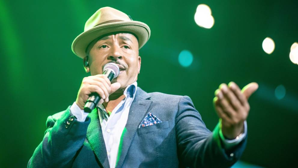 MANNHEIM, GERMANY - APRIL 21: Lou Bega performs during the Radio Regenbogen 30th Anniversary Celebration at SAP Arena Mannhei