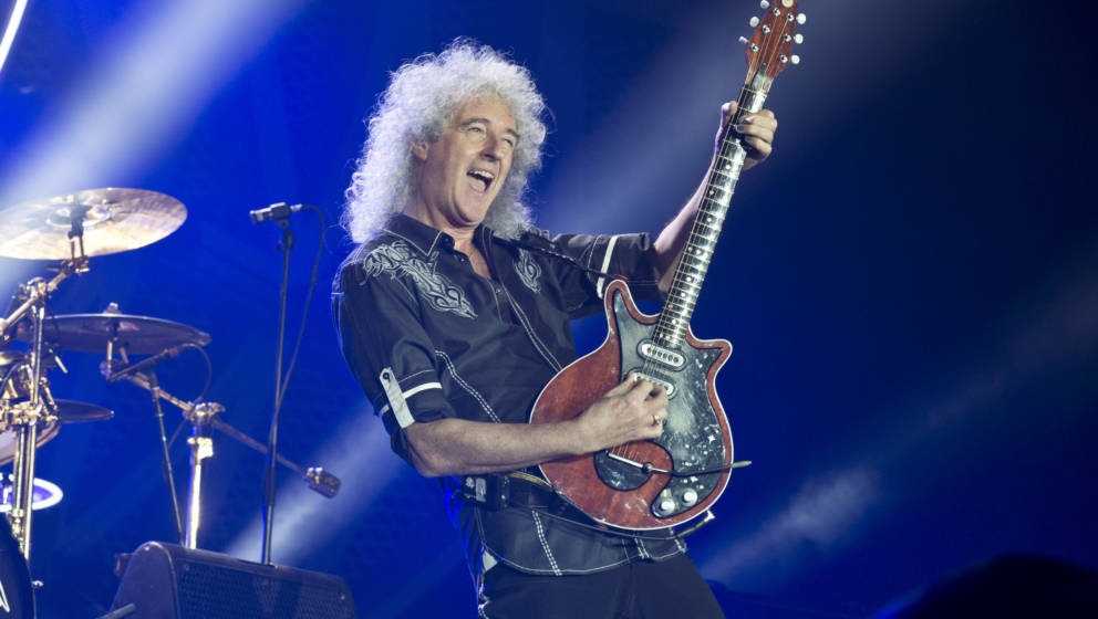 Brian May live mit Queen