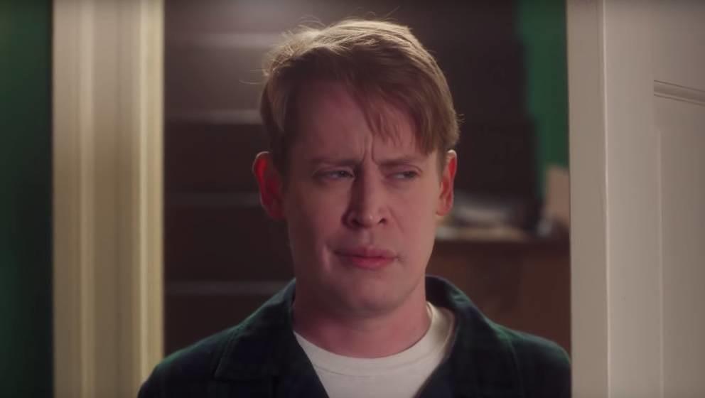 Macaulay Culkin als etwas in die Jahre gekommener Kevin McAllister