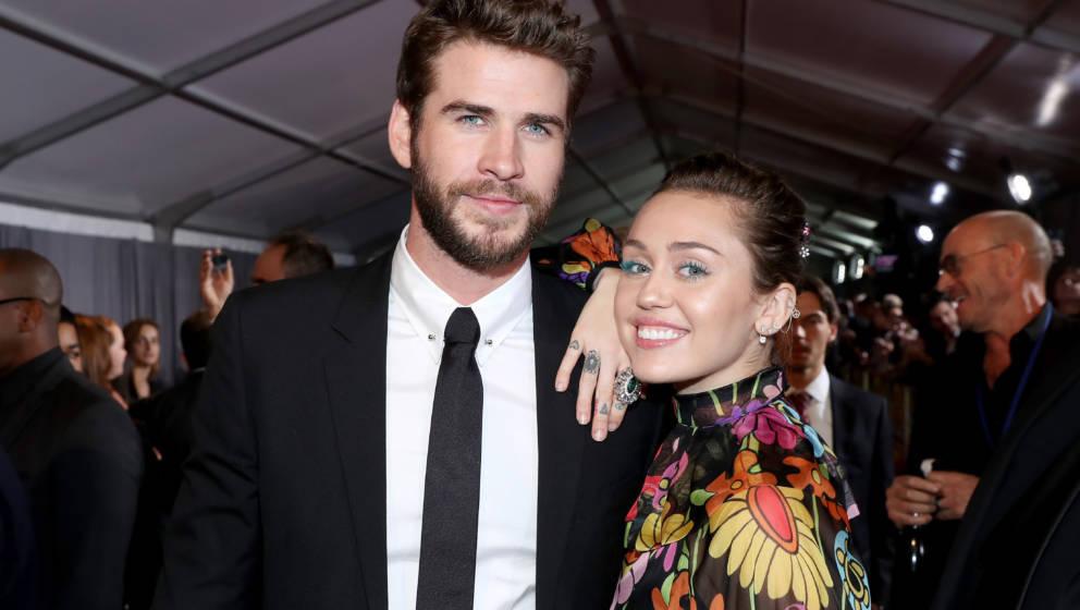 Kennen sich schon länger: Miley Cyrus und Liam Hemsworth