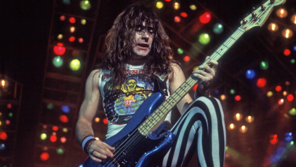 Iron Maiden live 1983