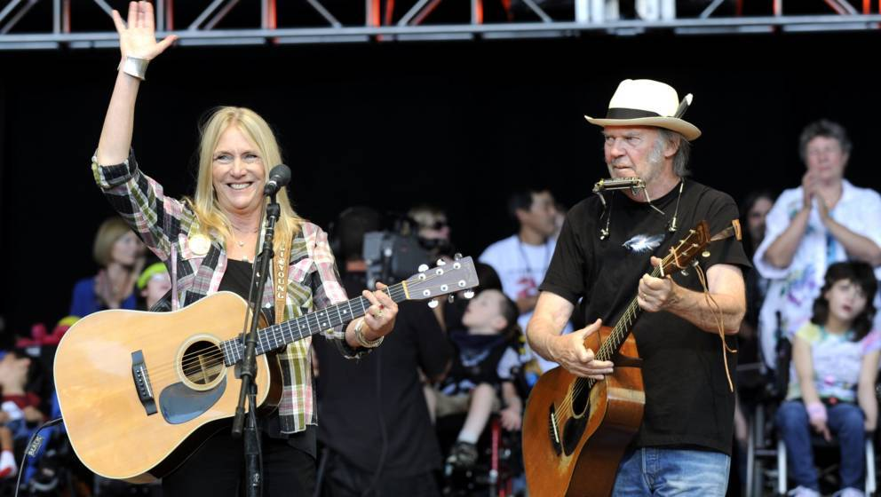 Pegi Young und Neil Young (2009)
