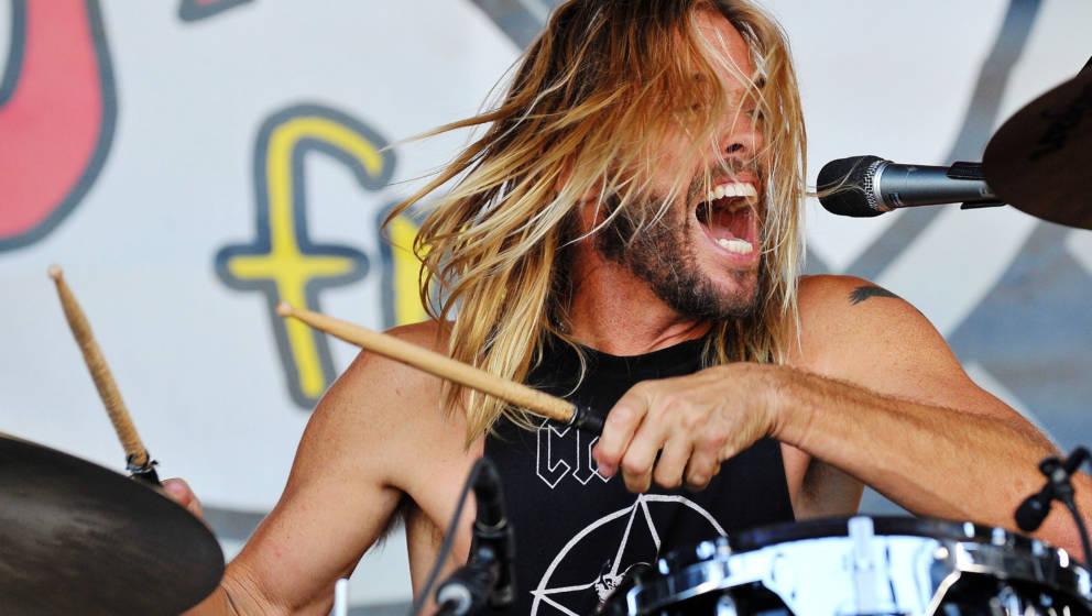 Taylor Hawkins von den Foo Fighters