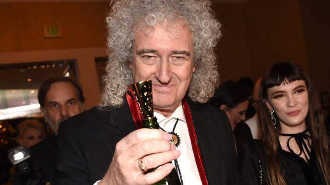Brian May hat allen Grund zum Anstoßen