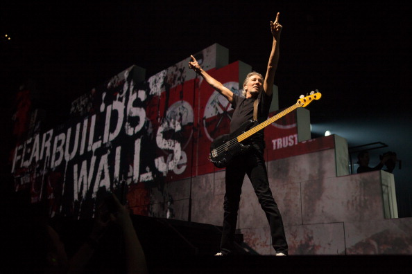 INDIANAPOLIS, IN - JUNE 11:  Roger Waters performs 'The Wall Live' at Bankers Life Fieldhouse on June 11, 2012 in Indianapoli