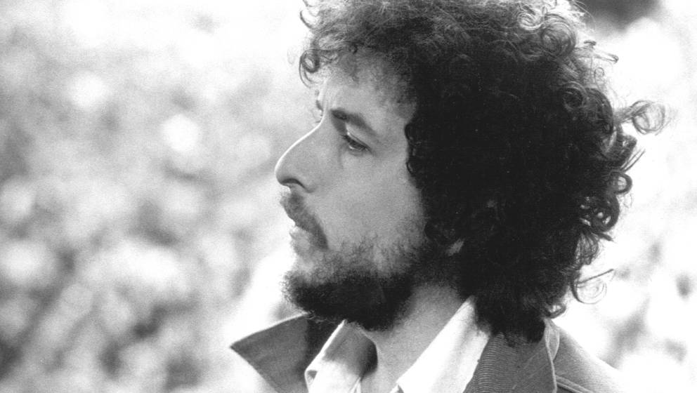 SAN FRANCISCO, CA - MARCH 23, 1975:  Singer/Songwriter Bob Dylan performs at Kezar Stadium in San Francisco, California, Marc