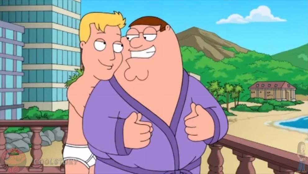 """Nur eine homosexuelle Tagtraumphantasie: """"Family Guy"""" lachte Jahrzehnte über Homosexuelle - damit ist nun Schluss"""