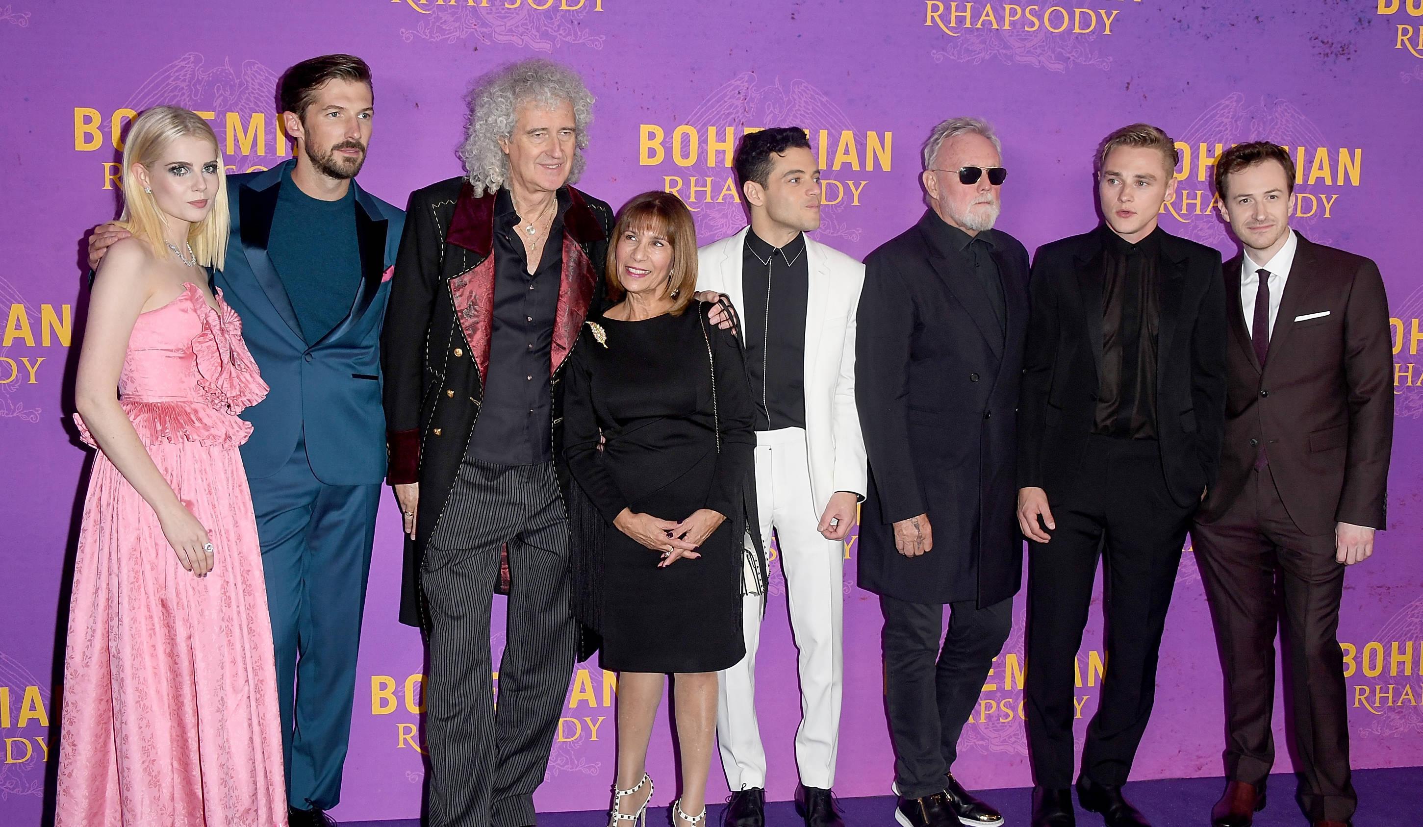 Brian May Zeigt Bohemian Rhapsody Cast Wie Queen Power Aussieht