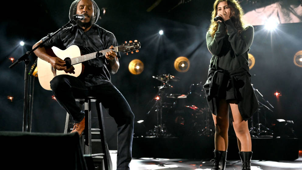 Ziggy Marley und Toni Cornell