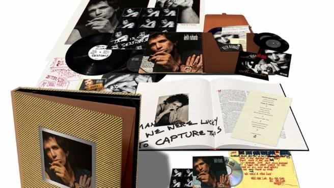 """Cover-Artwork der Super-Deluxe-Edition von """"Talk Is Cheap"""" von Keith Richards"""