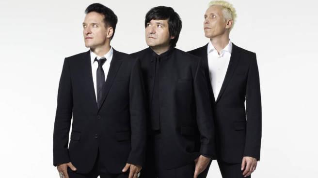 Die Ärzte: Bela, Rod und Farin 2012.