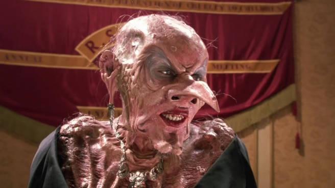 """Anjelica Huston als Oberhexe in """"Hexen hexen"""""""
