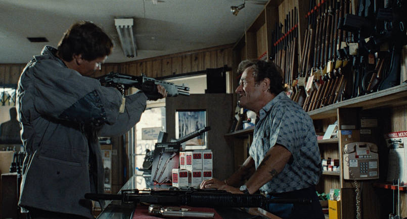 "Dick Miller als Waffenverkäufer in ""Terminator"""