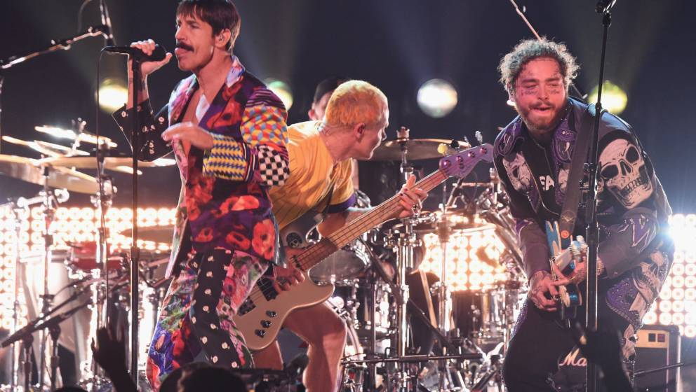 Grammys 2019: Red Hot Chili Peppers rocken mit Post Malone (Video)