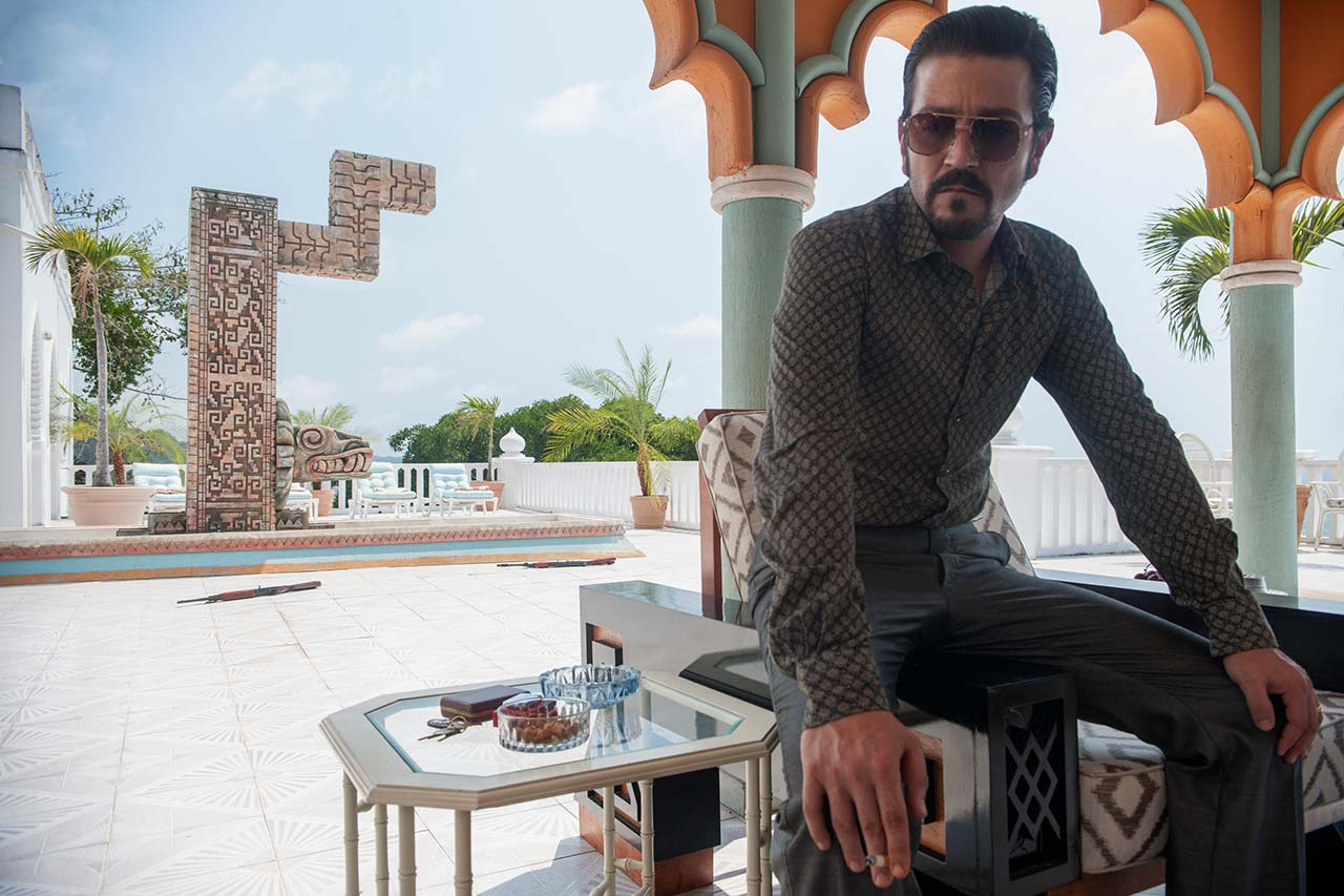 "Diego Luna in ""Narcos: Mexico"""