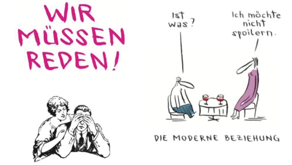 """""""Wir müssen reden"""" von Nicolas Mahler, Edition Moderne (14,80 Euro)"""