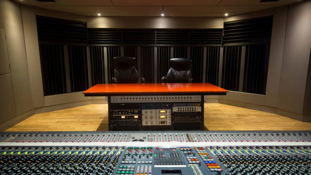 Blick in die Windmill Lane Studios