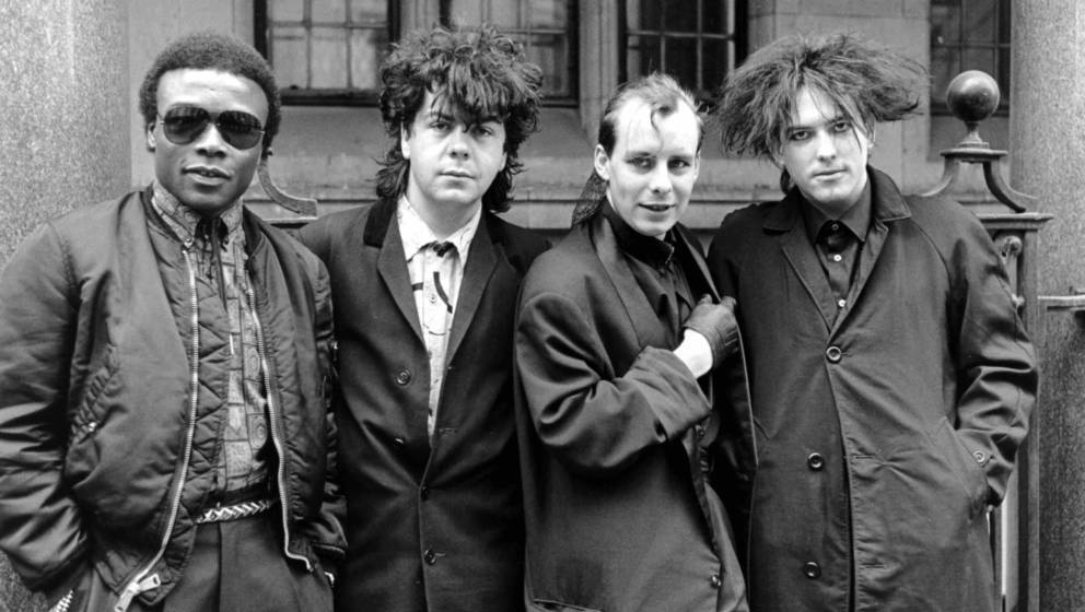 The Cure - Clifford Leon Anderson, Lol Tolhurst, Paul 'Porl' Thompson And Robert Smith - 1984, The Cure - Clifford Leon Ander