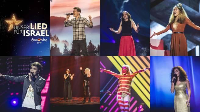 """Alle KandidatInnen von """"Unser Lied für Israel"""" auf einen Blick"""