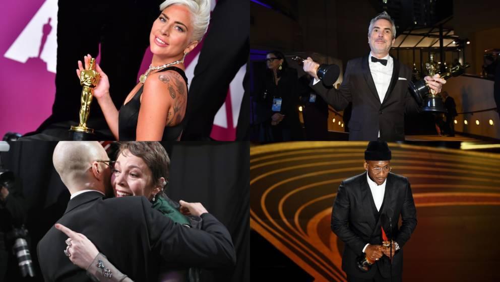 'Bohemian Rhapsody', 'GReen Book' und 'Roma' gehörten zu den großen Oscar-Gewinnern 2019
