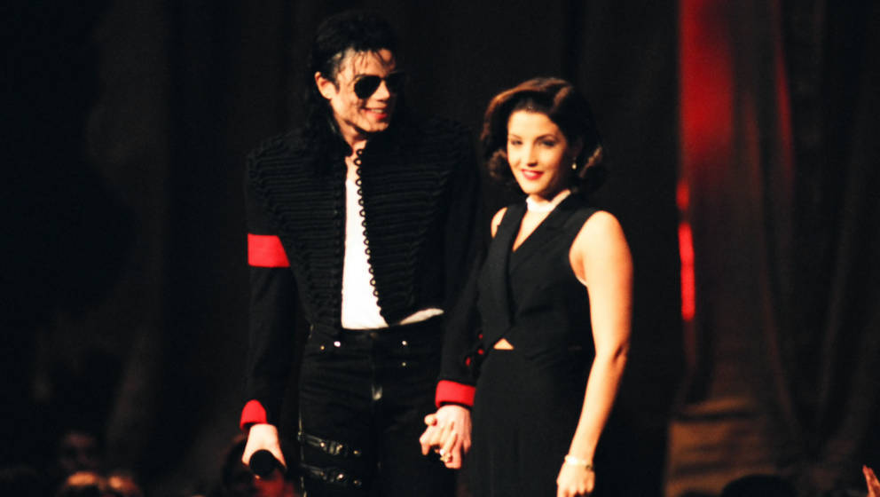 Michael Jackson and Lisa Marie Presley (Photo by Jeff Kravitz/FilmMagic)