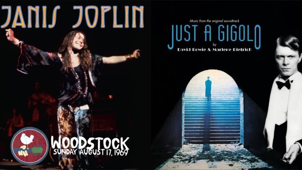LPs von Janis Joplin und David Bowie beim Record Store Day 2019
