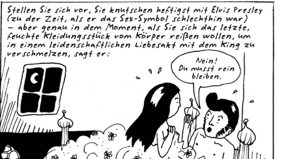 """Auszug aus dem Comic """"I'm Every Woman"""" von Liv Strömquist (avant-verlag, 20 Euro)"""
