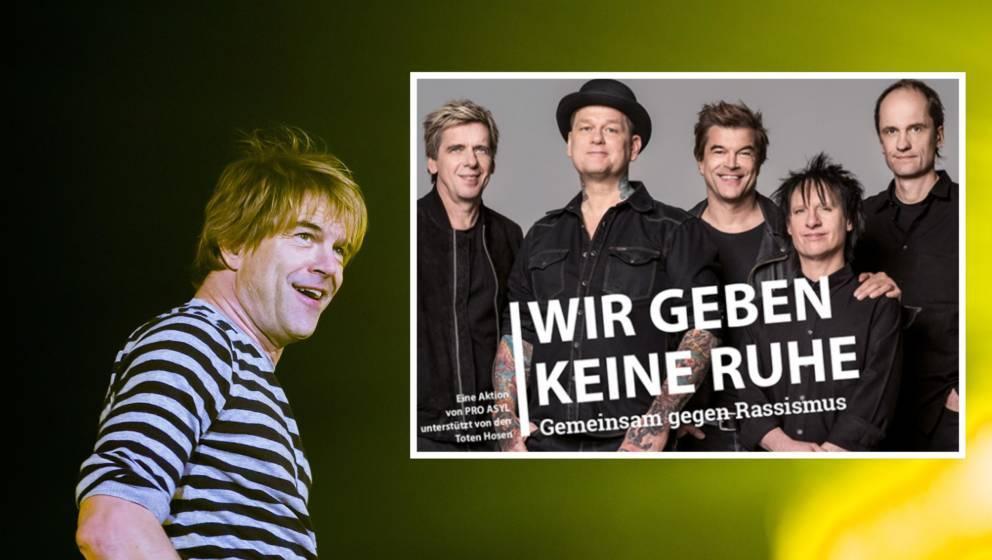 Die Toten Hosen übergeben Bundestag Unterschriften gegen Rassismus