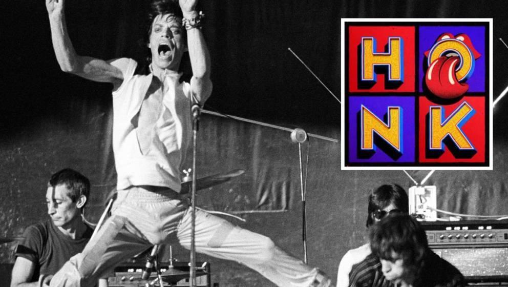 """Rolling Stones live 1978 und Cover von """"Honk"""""""