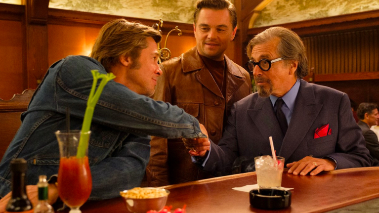 "Star-Power: Brad Bitt, Leonardo DiCaprio und Al Pacino in ""Once Upon A Time In Hollywood"""